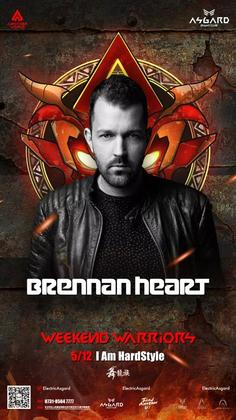 Brennan Heart @Asgard Night Club - 长沙