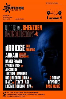 Outlook Festival Official  Shenzhen Launch Party @Oil - 深圳