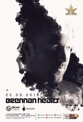 Brennan Heart @Club Galame - 佛山