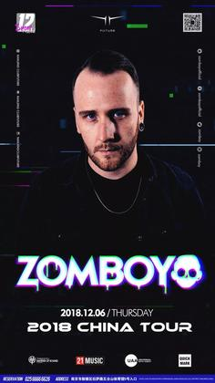 Zomboy @Club Future - 南京
