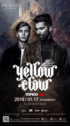 Yellow Claw @Club Miami - 西安