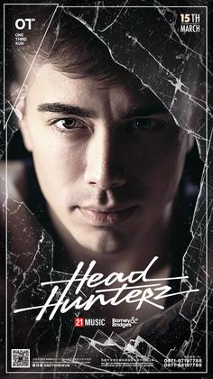 Headhunterz @One Third - 昆明