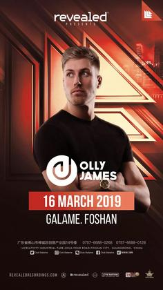 Olly James @Club Galame - 佛山